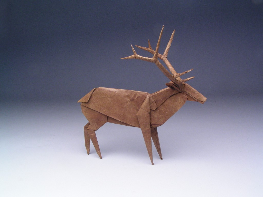 Origami Elk